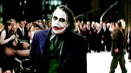 Watch and share The Dark Knight GIFs and Heath Ledger GIFs on Gfycat