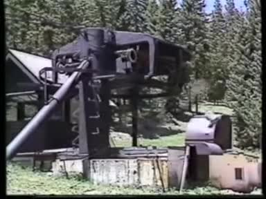 Chairlift Destroy Crash Test