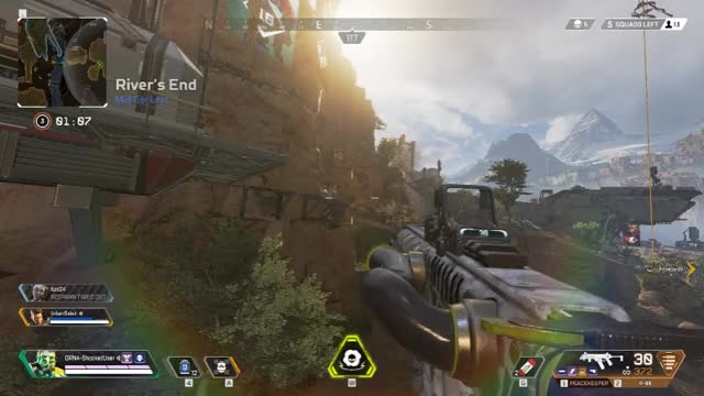 Watch and share Knocked Down By You GIFs and Apex Legends GIFs by Overwolf on Gfycat
