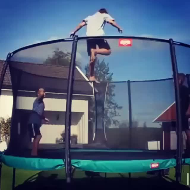 Watch Trampoline Fail GIF on Gfycat. Discover more WastedGifs, wastedgifs GIFs on Gfycat
