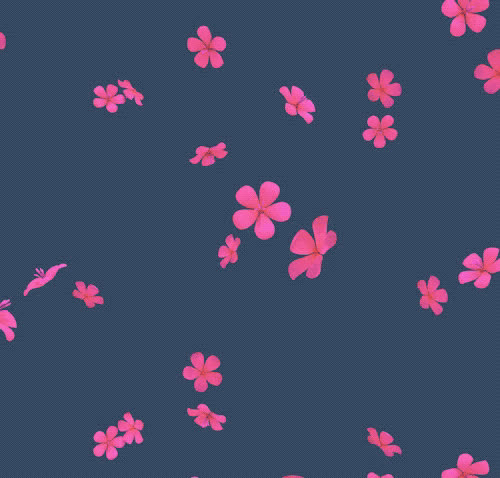 animated, fall, falling, flower, flowers, kisses, pink, rain, red, Flowers GIFs