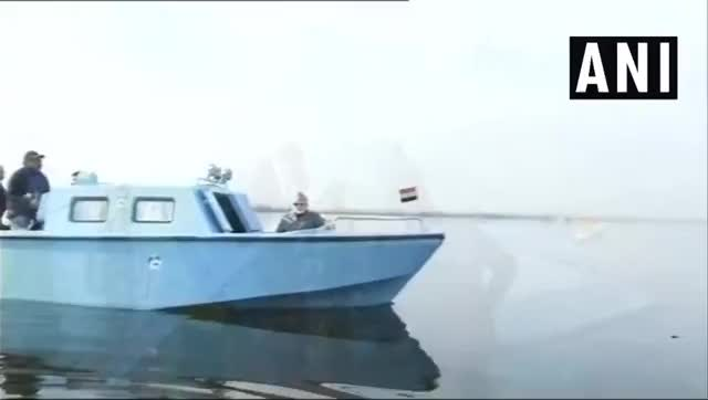 Watch and share [1104x624] ANI В Twitter #WATCH Jammu & Kashmir Prime Minister Narendra Modi Tours Dal Lake In Srinagar.… GIFs on Gfycat