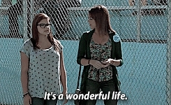 *, 5x09, Haley Dunphy, Modern Family, alex dunphy, gif, gifs, it's a wonderful life mention, modernfamilyedit, television, the big game, modern family GIFs