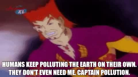 Watch and share Captain Planet Captain Pollution178 GIFs by ☢ CaptainPollution ☢ on Gfycat