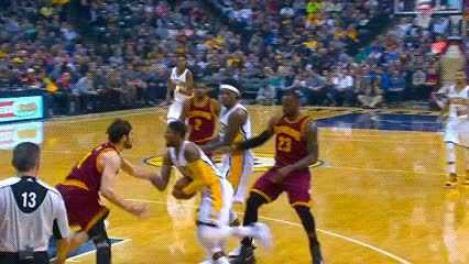 Watch and share Myles Turner, Indiana Pacers GIFs by Off-Hand on Gfycat