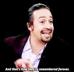 Watch and share Lin Manuel Miranda GIFs and Hamilton GIFs on Gfycat