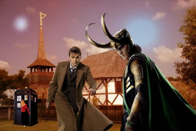 Watch and share The Doctor And The God [GIF] By Hobbitgirlintardis GIFs on Gfycat
