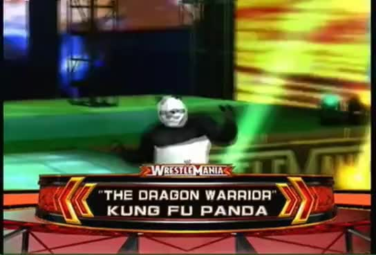 Watch and share WWE Smackdown Vs. Raw 2011 - Pikachu Vs. Kung Fu Panda Vs. Rafiki - TLC Match GIFs on Gfycat