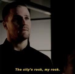 Watch and share Oliver Queen GIFs and John Diggle GIFs on Gfycat