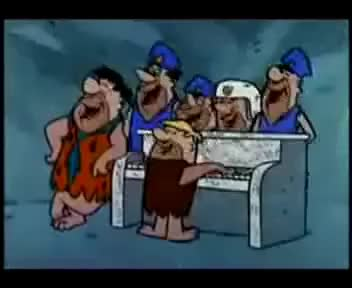 Watch and share Flintstones GIFs and Anniversary GIFs on Gfycat