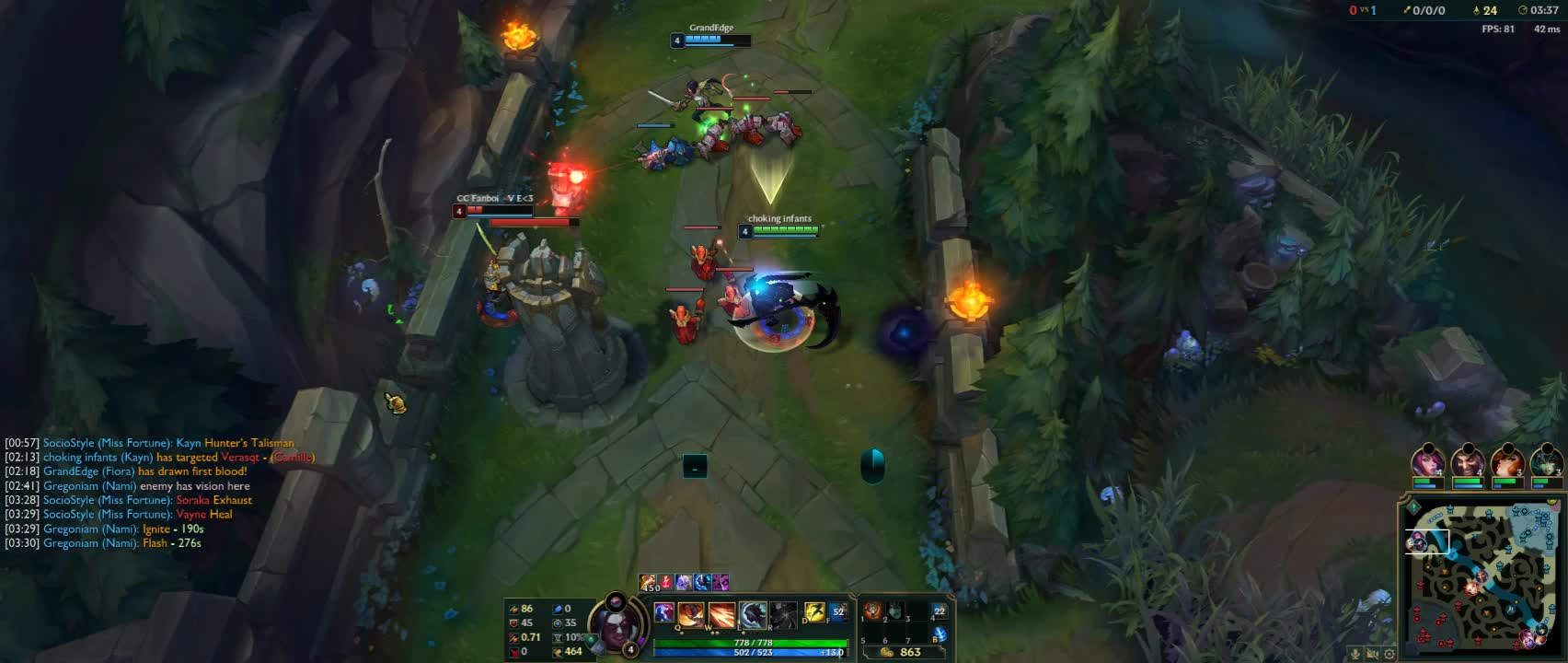 Assist, Gaming, Kayn, LeagueOfLegends, Overwolf, Win, Check out my video! LeagueOfLegends | Captured by Overwolf GIFs