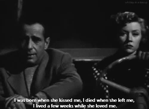 Watch and share Humphrey Bogart GIFs and Gloria Grahame GIFs on Gfycat