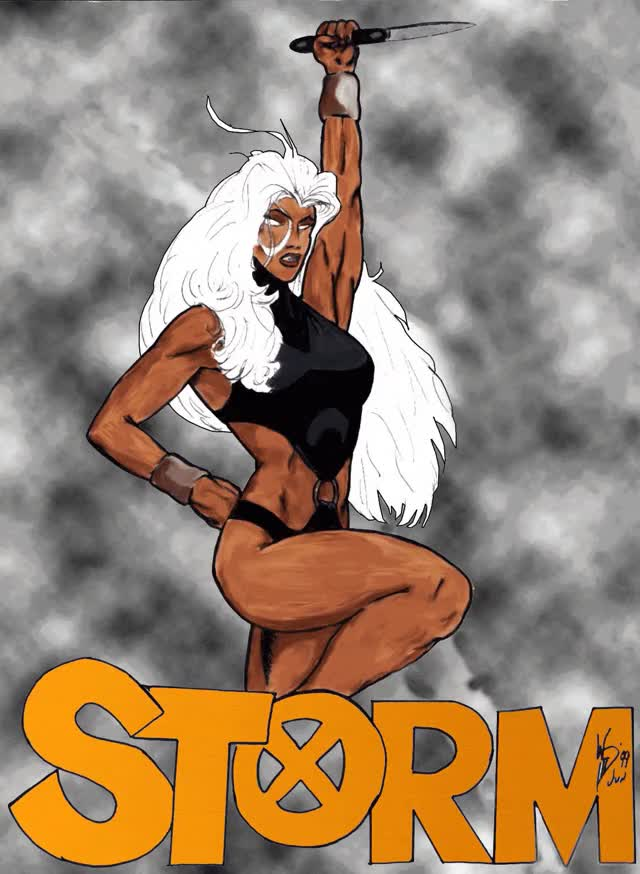 Watch storm_x_men_goddess_by_xanthemann-d5iognt GIF on Gfycat. Discover more related GIFs on Gfycat