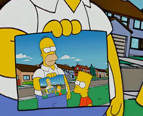 Watch and share Simpson-ception GIFs on Gfycat