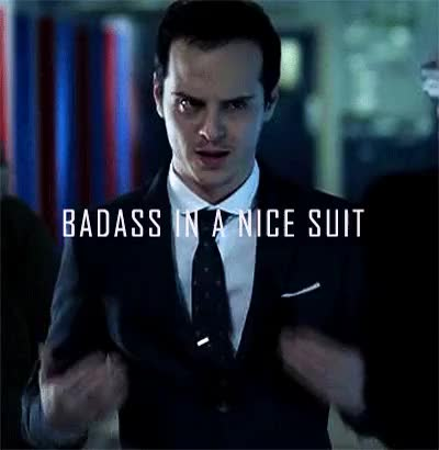 Watch and share Moriarty GIFs on Gfycat