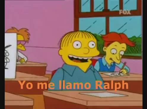 Watch and share Yo Me Llamo Ralph.avi GIFs on Gfycat