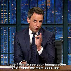 Watch and share Late Night With Seth Meyers GIFs on Gfycat