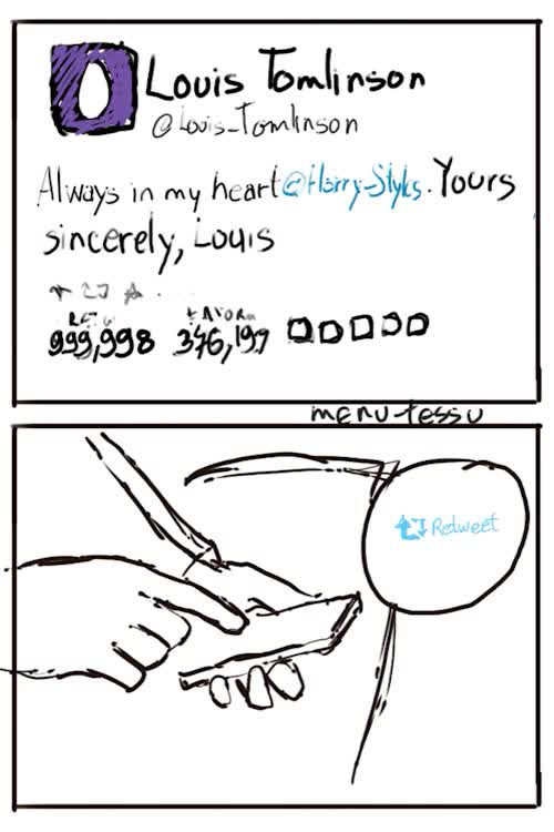 Watch and share Always In My Heart GIFs and Larry Stylinson GIFs on Gfycat