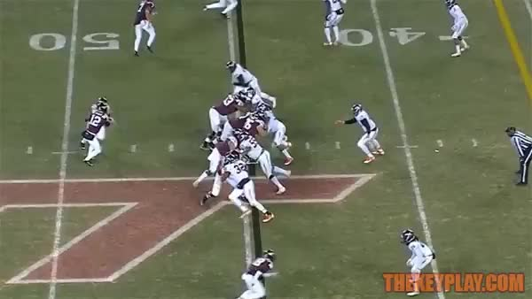 Watch 2015 4-star OT Austin Clark Signed with Hokies today | The Key Play GIF on Gfycat. Discover more related GIFs on Gfycat