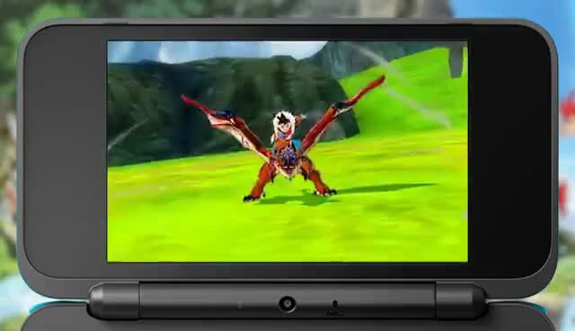 Watch and share Monster Hunter Stories - Official Nintendo 3DS Trailer GIFs on Gfycat