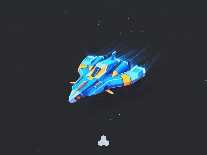 unity3d, Space Journey - Unity3D GIFs