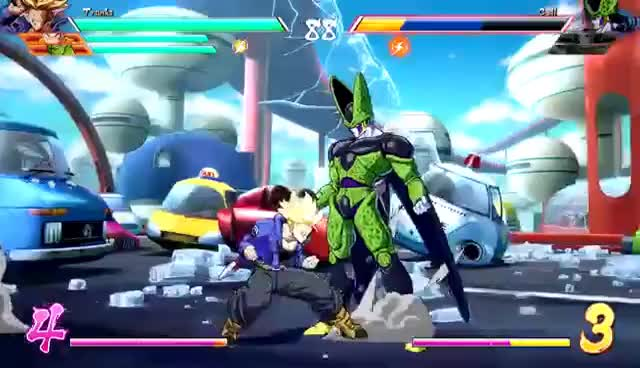 Watch and share TRUNKS - Combos, Specials & Breakdown: DragonBall FighterZ (4K HD) GIFs on Gfycat
