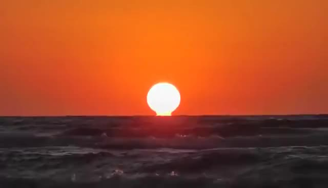 Watch and share Sunrise - Black Sea HD GIFs on Gfycat