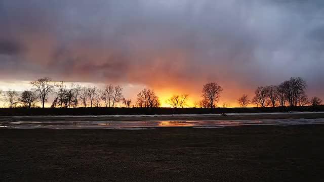 Watch and share Kansas Sunset GIFs on Gfycat