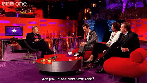 Watch and share Graham Norton Show GIFs and Star Trek GIFs on Gfycat