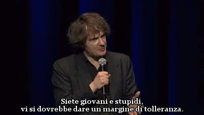 Watch and share Stand Up Comedy GIFs and Dylan Moran GIFs on Gfycat