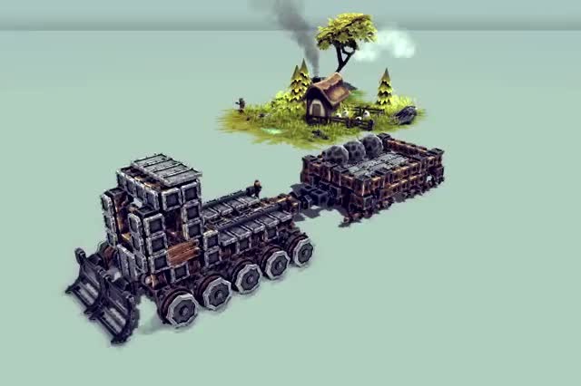 Watch and share Besiege: Snowcat Simulator GIFs on Gfycat