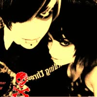 Watch and share Emo Boy And Girl GIFs on Gfycat