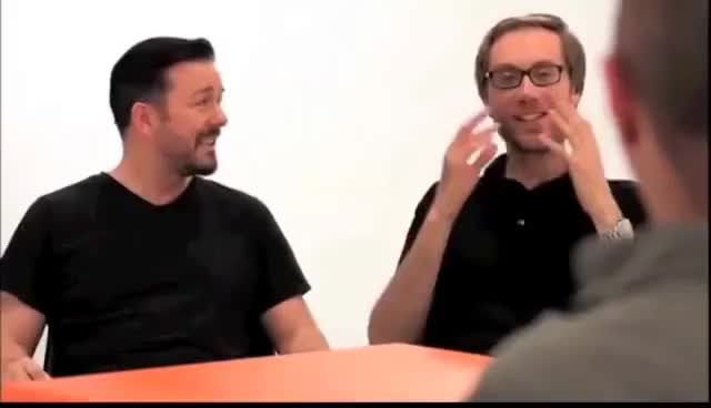 Watch Ricky Gervais GIF on Gfycat. Discover more Gervais, Ricky GIFs on Gfycat
