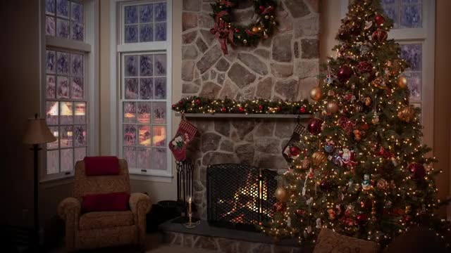 Watch and share Christmas Fireplace GIFs and Babu's Relax Tv GIFs on Gfycat