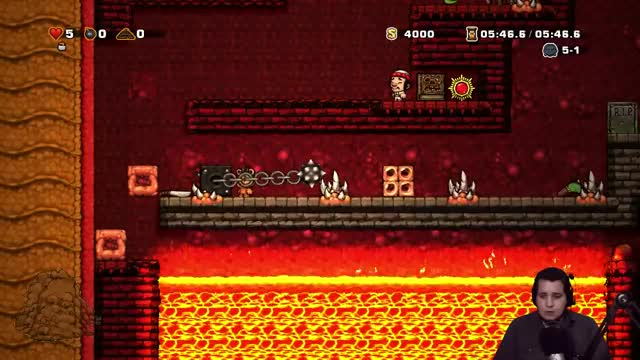 Watch and share Spelunky Custom Levels With Baer! - The Worm Reaper [1/2] GIFs on Gfycat