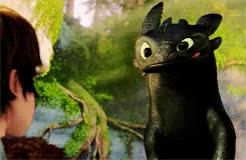 Watch view GIF on Gfycat. Discover more *httyd, how to train your dragon, newgifs, rachellweisz, so cuteee GIFs on Gfycat