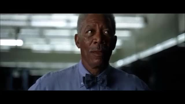 Watch and share Lucius Fox Resigns GIFs by hydraloonie on Gfycat