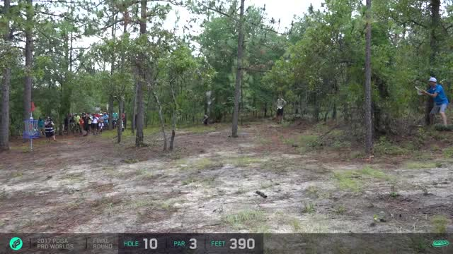 Watch 2017 PDGA Pro Worlds | Final 9 | Wysocki, Lizotte, McCray, Hammes GIF on Gfycat. Discover more related GIFs on Gfycat