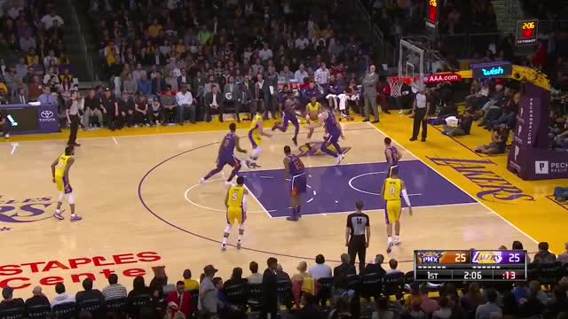 Watch and share Los Angeles Lakers GIFs and Basketball GIFs by bladner on Gfycat