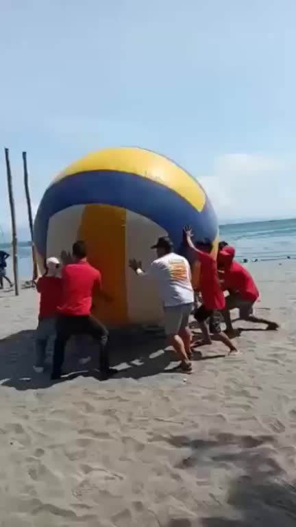 Watch and share Giant Volleyball Laughter GIFs by Steven Marciano on Gfycat