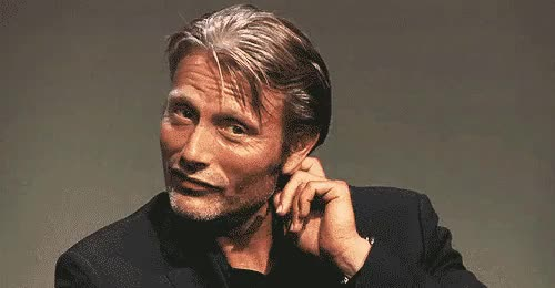 Watch  Happy Birthday Mads Mikkelsen~ !!  () GIF on Gfycat. Discover more Mads Mikkelsen, Nbc Hannibal, cute, happy birthday love, my gifs GIFs on Gfycat