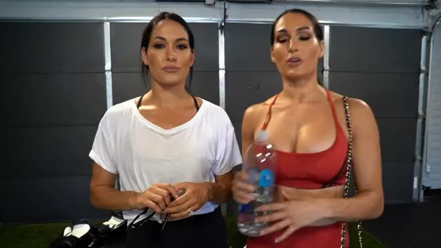 brie Bella & Nikki Bella
