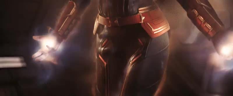 brie larson, captain marvel, celebs, marvel, marvel cinematic universe, marvel studios, mcu, Captain Marvel's Powers GIFs