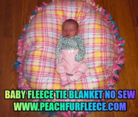 Watch and share Best Baby Fleece Tie Blankets For Sale GIFs by fleecepeachfur on Gfycat