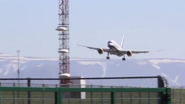 Watch and share Icelandair B757 Lowpass At Reykjavik Airshow 2012 GIFs on Gfycat