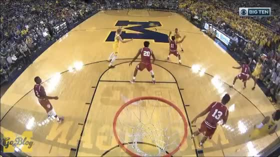 Watch and share Moritz Wagner GIFs and Jordan Poole GIFs by MGoBlog on Gfycat