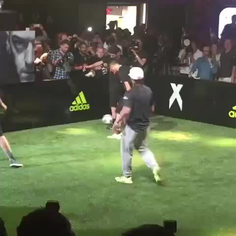 halamadrid, Enzo Zidane with some fancy footwork vs. Ander Herrera (reddit) GIFs