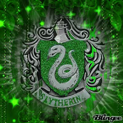 Watch and share Slytherin By Girlink GIFs on Gfycat