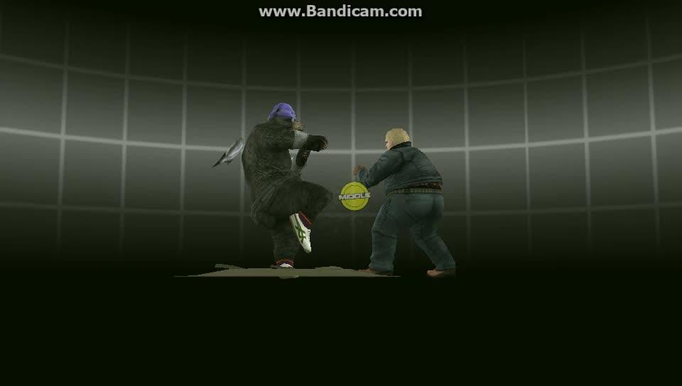 Bob, Kuma, Tekken, Cinematic SHOORRRKKUMA GIFs