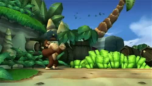 Watch and share Donkey Kong GIFs on Gfycat